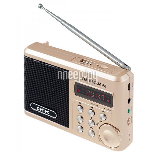 Радиоприемник Perfeo PF-SV922AU Gold