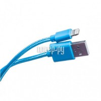 Аксессуар Prolike USB - 8 pin Lightning 1.2m Blue PL-IP8-NL-1,2-BU
