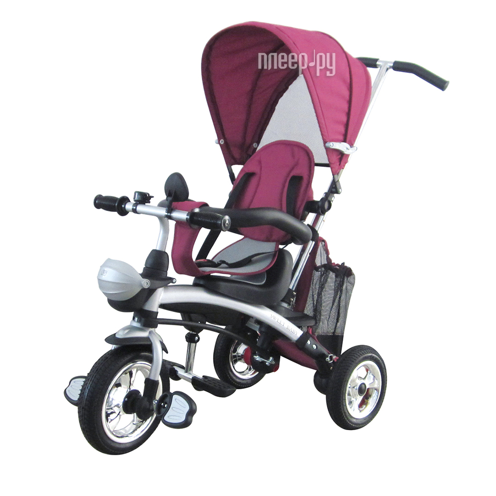Коляска-велосипед Micio Compact Air 2017 Violet 1679429