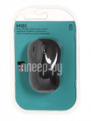 Фото Logitech M185 Dark-Grey 910-002238