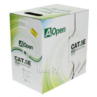 Фото AOpen Light UTP cat.5e 4 пары 305m ANC514-40