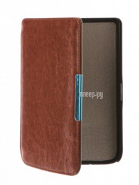 Аксессуар Чехол for PocketBook 614/615/624/625/626 TehnoRim Slim Brown TR-PB626-SL01BR