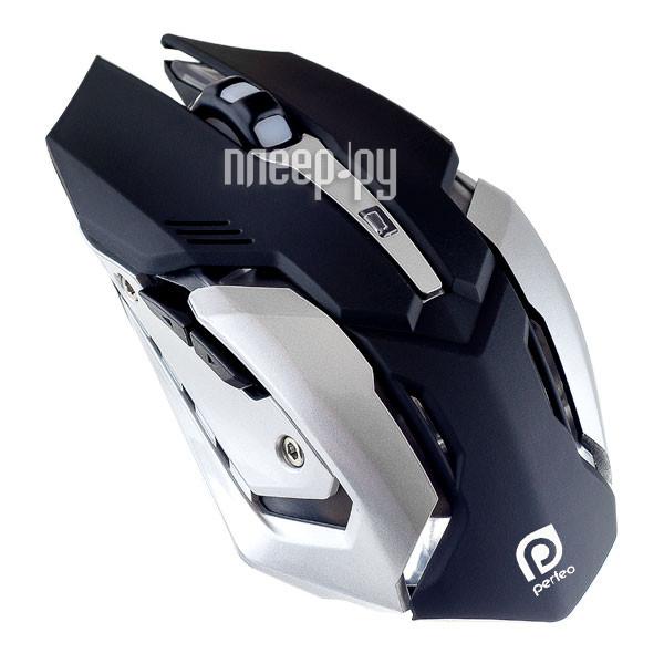 Мышь Perfeo Shooter USB Black PF-1709-GM[Перейти в каталог этих товаров]
