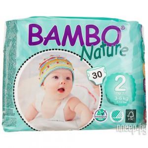 3126ae643802 Купить Bambo Nature Mini 3-6кг 30шт 310132 по низкой цене в Москве