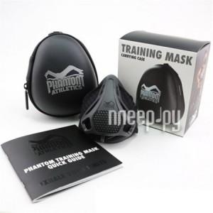 Дыхательный тренажер Training Mask Phantom Athletics Black (размер L)