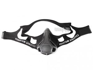Дыхательный тренажер Training Mask Phantom Athletics Black (размер M)