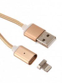 Фото Red Line Magnetic USB - Lightning 8 pin Gold УТ000012859
