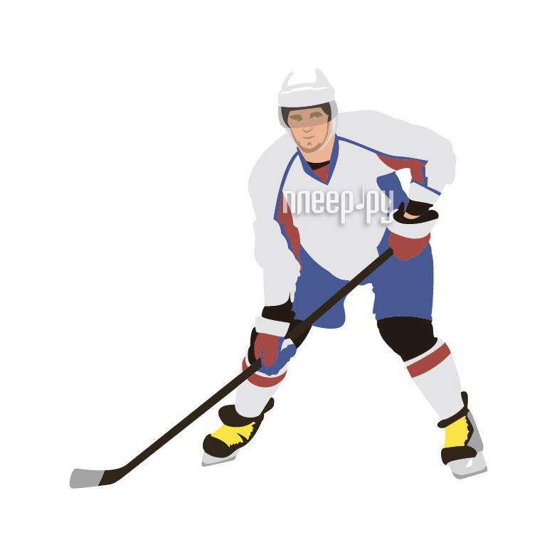 Аксессуар Sport-Sticker Ребенок в машине Хоккей - треугольная табличка на присоске - фото 8