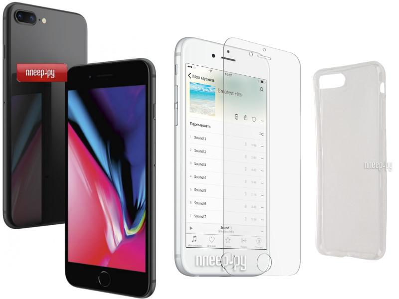 Сотовый телефон APPLE iPhone 8 Plus - 256Gb Space Gray MQ8P2RU A Выгодный  набор + fd193faee2d