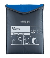 Фото Сумка-рюкзак LowePro SleevePack 13 Light Blue-Grey