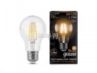 Фото Gauss LED Filament E27 A60 8W 2700K 102802108