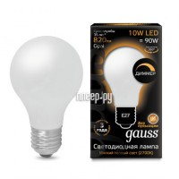 Лампочка Gauss LED Filament Opal Dimmable A60 E27 10W 2700K 102202110-D
