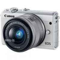 Фото Canon EOS M100 Kit EF-M 15-45 IS STM White 2210C012