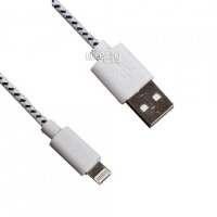 Фото Liberty Project Кабель USB - Lightning White/Black R0007947