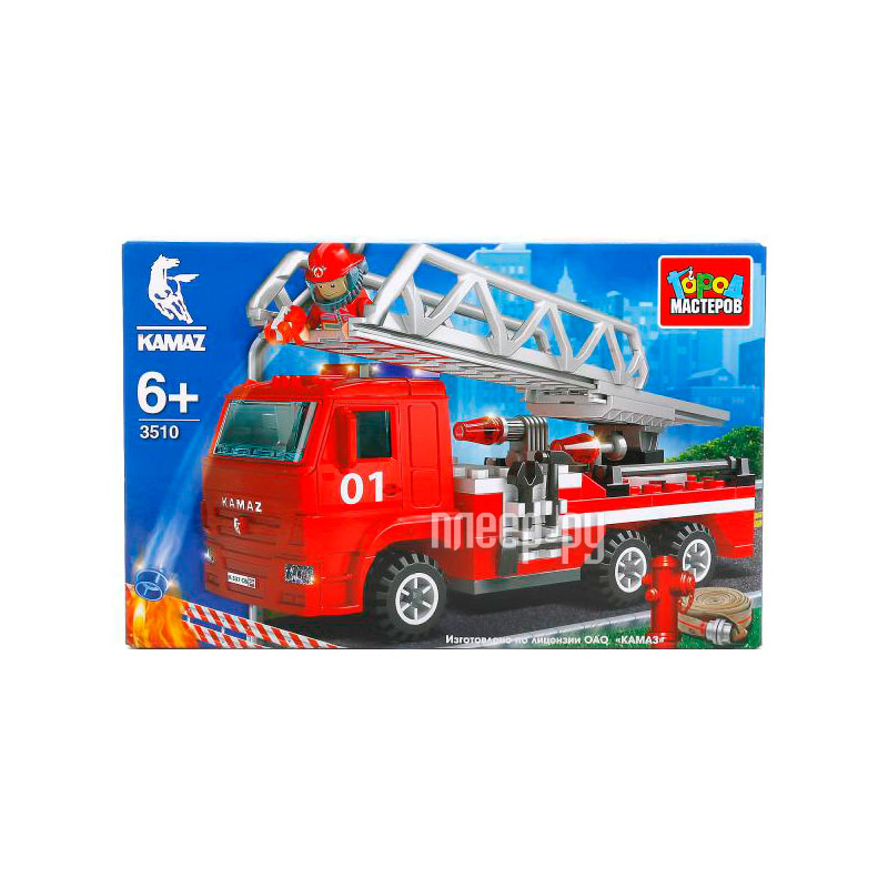 729a79edb610 Купить Город Мастеров Пожарная машина KK-3510-R по низкой цене в Москве
