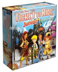 Фото Hobby World Ticket to Ride Junior: Европа 1867