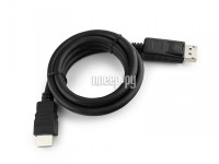 Фото Gembird Cablexpert DisplayPort to HDMI 20M/19M 3m Black CC-DP-HDMI-3M