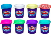 Игрушка Hasbro Play-Doh Plus Набор из 8 банок пластилина A1206