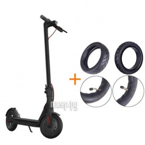 Фото Xiaomi Mijia M365 Electric Scooter  Black NewGen 2.0 + комплект покрышек FBC4004GL