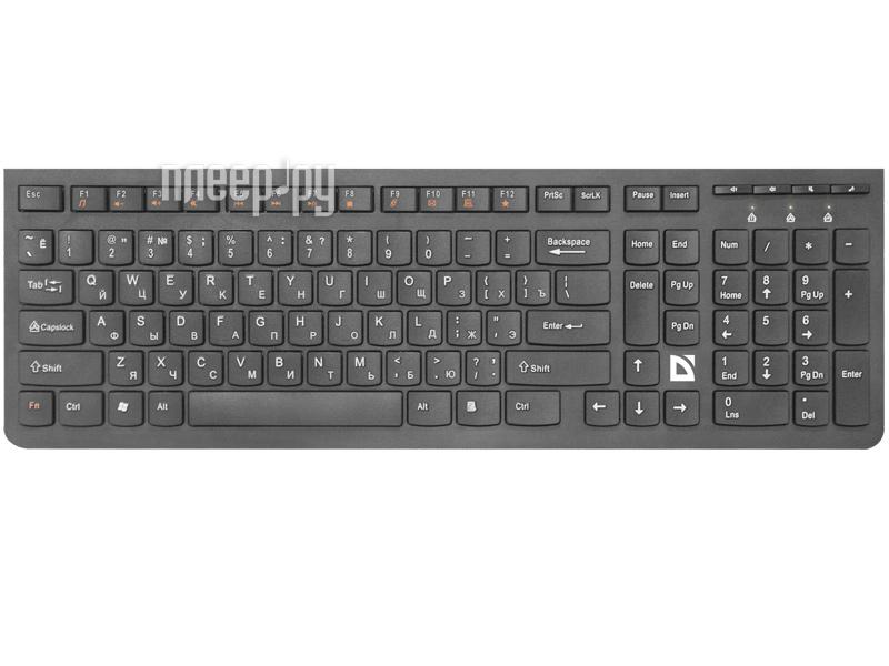 Клавиатура Defender UltraMate SM-535RU Black 45535[Перейти в каталог этих товаров]