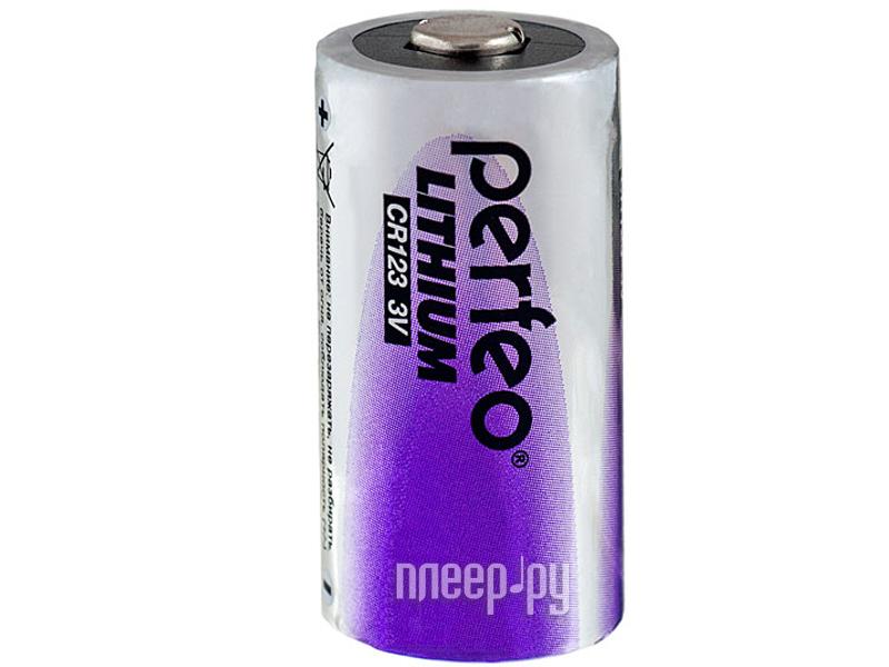 Батарейка Perfeo CR2/1BL Lithium (1 штука)[Перейти в каталог этих товаров]