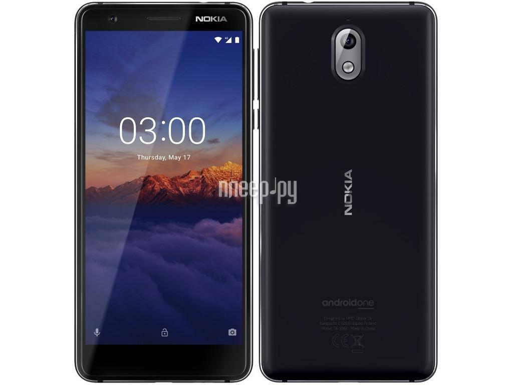 ec101e83317cf Купить Nokia 3.1 (TA-1063) Dual Sim 16Gb Black-Chrome по низкой цене ...