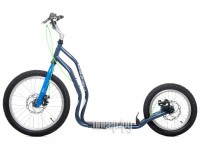 Самокат Yedoo Mezeq New Disc Grey-Blue 111205