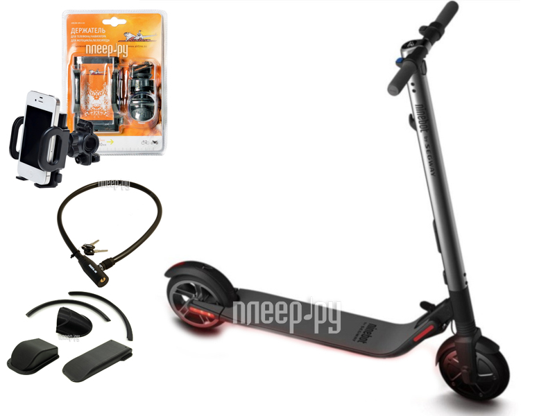 Электросамокат Ninebot By Segway KickScooter ES1 Выгодный набор + подарок серт. 200Р!!![Перейти в каталог этих товаров]