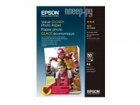 Фото Epson Value Glossy Photo Paper A4 183g/m2 50 листов C13S400036