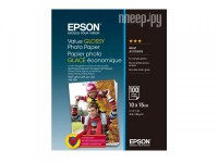 Фото Epson Value Glossy Photo Paper 183g/m2 10x15cm 100 листов C13S400039