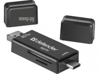 Фото Карт-ридер Defender Multi Stick USB 2.0 Type-A/B/C - SD/TF 83206
