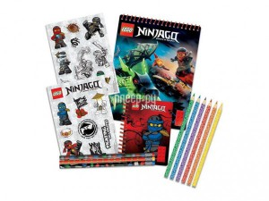 Набор канцелярских принадлежностей Lego Ninjago 51631