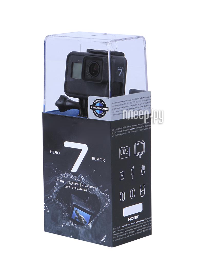 Экшн-камера GoPro Hero 7 Black Edition CHDHX-701-RW[Перейти в каталог этих товаров]