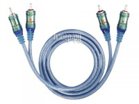 Фото Oehlbach Master Connect RCA 50cm Ice Blue 92021