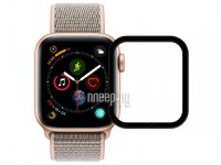 Фото Защитное стекло Zibelino для APPLE Watch 4 40mm TG 3D Black ZTG-3D-APL-W40-BLK