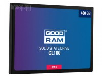 Фото GoodRAM CL100 Gen.2 480Gb SSDPR-CL100-480-G2