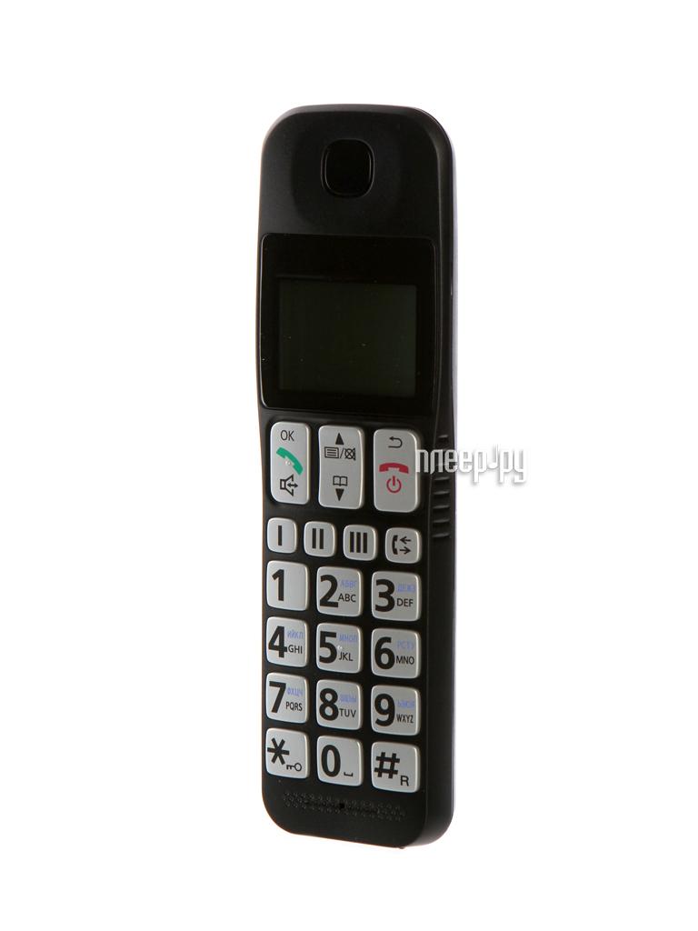 Телефон Panasonic KX-TGE110RUB уцененный[Перейти в каталог этих товаров]