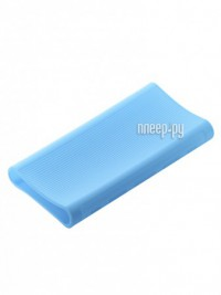 Фото Чехол Xiaomi Silicone Case for Power Bank 3 20000mAh Blue