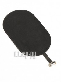 Фото Baseus Microfiber Wireless Charging Receiver For Type-C Black WXTE-B01