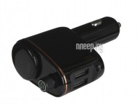 Фото Baseus Locomotive Bluetooth MP3 Vehicle Charger Black CCALL-RH01