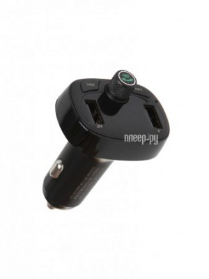 Фото Baseus T-Typed Bluetooth MP3 Charger With Car Holder Black CCALL-TM01