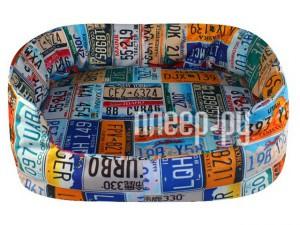 Место для отдыха Vivacase Plate Num 46x40x18cm Blue VPT-MPO464018-blue