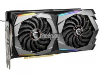 Фото MSI GeForce RTX 2060 1695Mhz PCI-E 3.0 8192Mb 14000Mhz 256 bit HDMI 3xDP RTX 2060 SUPER GAMING X