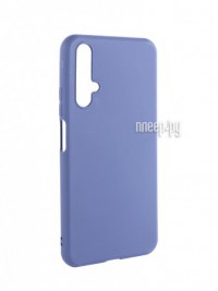 Фото Чехол Brosco для Honor 20 Blue Matte HW-H20-COLOURFUL-BLUE