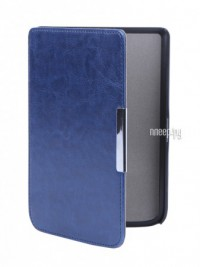 Фото Чехол BookCase для PocketBook Touch 614/624/626 Slim Dark Blue BC-626-DBLU