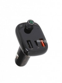 Фото Baseus T Typed Wireless MP3 Charger With Car Holder Black CCTM-B01