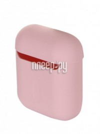 Фото Чехол Baseus Ultrathin Series Silica Gel Protector for Airpods 1/2 Pink WIAPPOD-BZ04