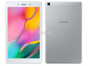 Планшет Samsung Galaxy Tab A 8.0 2020 LTE Silver SM-T295NZSASER (2048Mb/32Gb/GPS/LTE/3G/Wi-Fi/Bluetooth/Cam/8.0/1280x800/Android)