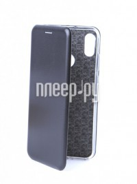 Фото Чехол Innovation для Huawei Honor 8A / Y6 2019 Book Silicone Magnetic Black 14224