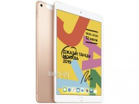 Фото APPLE iPad 10.2 2019 Wi-Fi + Cellular 128Gb Gold MW6G2RU/A